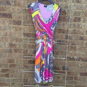 Olian Midi Summer Dress Festival Size S